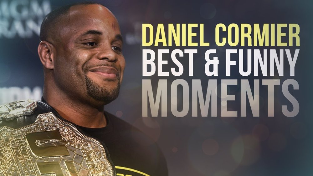 Daniel Cormier Funny and Best Moments - Funny Videos