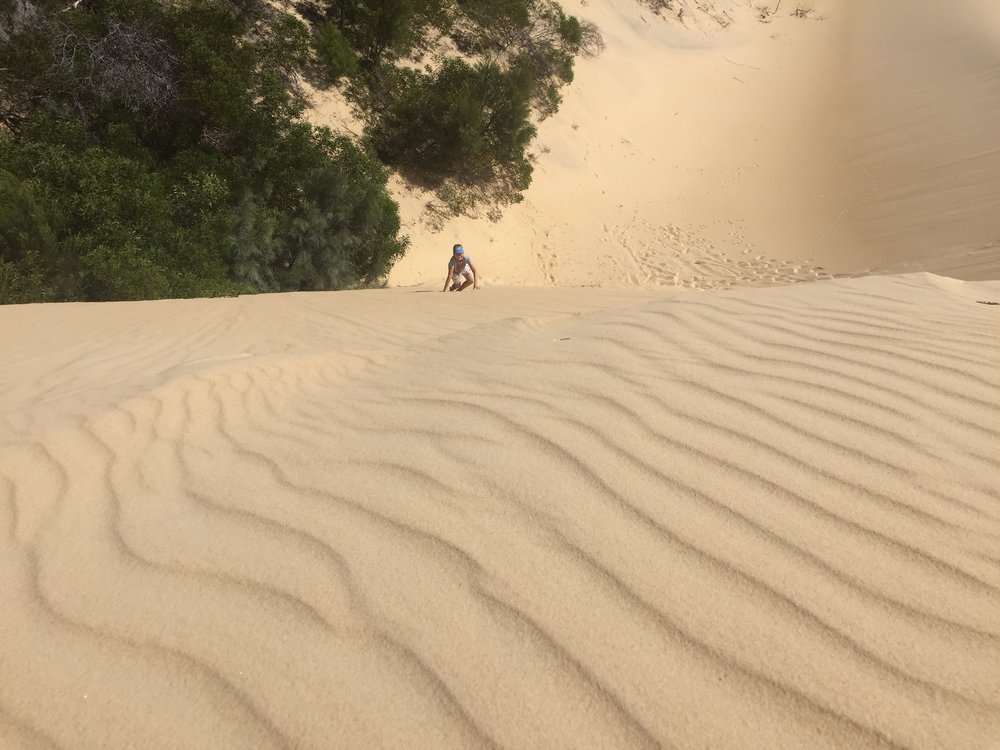 The Sand Blow