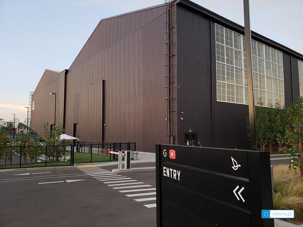 Google LA office in Playa Vista, CA