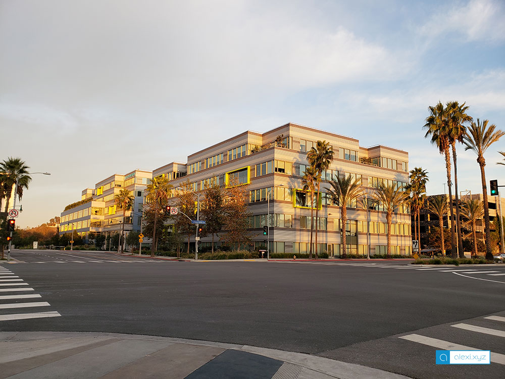 The IO at Playa Vista office building where Fullscreen, The Honest Company, and etc. are located in Playa Vista, CA.