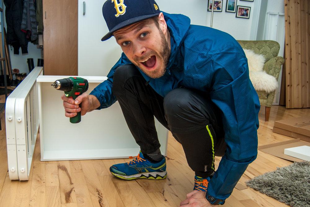 Buying user customized furniture at IKEA isn't always easy. Nikon D200.