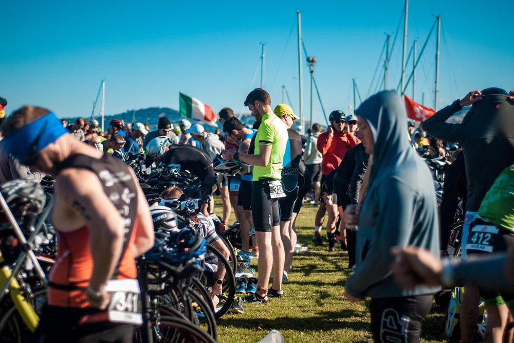 My last big race was the Escape From Alcatraz in 2017