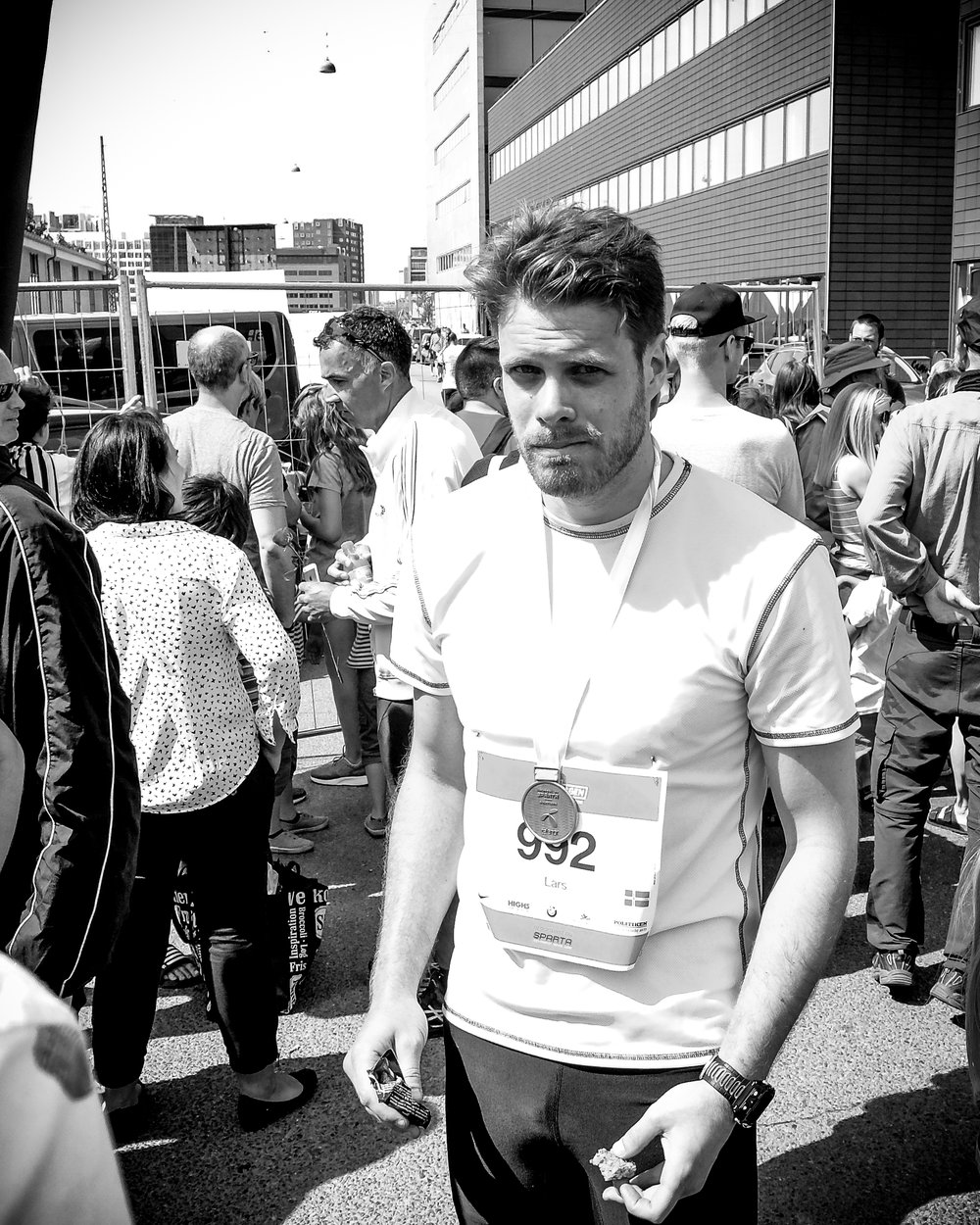 That awful day in Copenhagen Marathon when I started having thigh pains after only 18k.