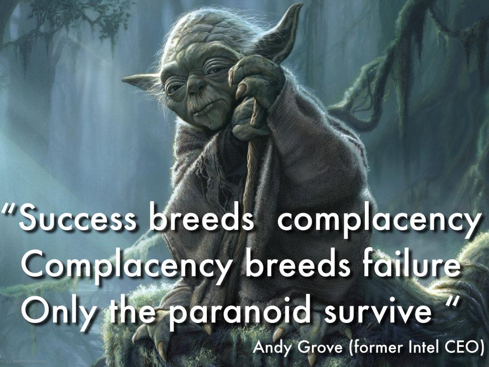 Yoda paranoid
