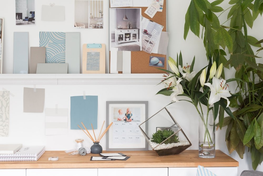 Project working from home - Inspiration area