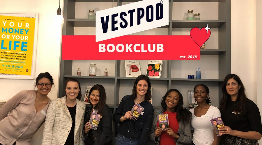 Vestpod Bookclub London Women Money