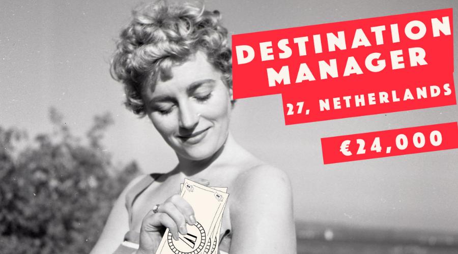 Destination Manager. Netherlands. 27. Single