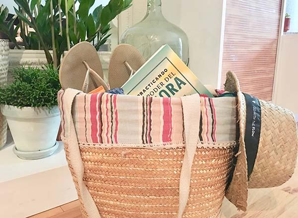 La bolsa de la playa