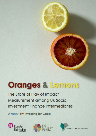 Orange and Lemons report