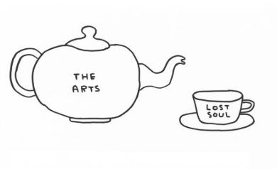 Illustration: David Shrigley, Arts Council England's website