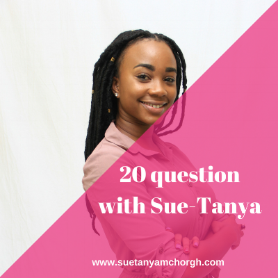 20 questions with sue-tanya
