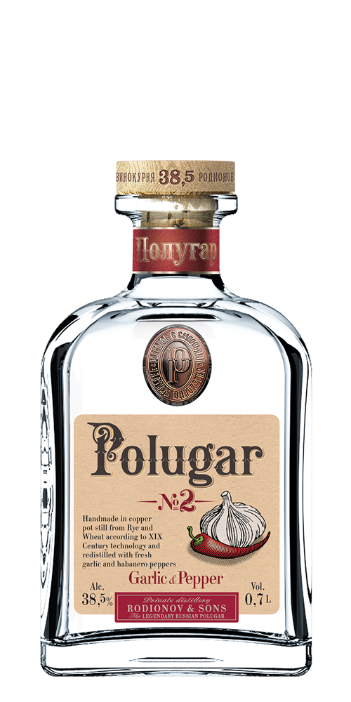 Polugar no2 garlic & pepper vodka.png