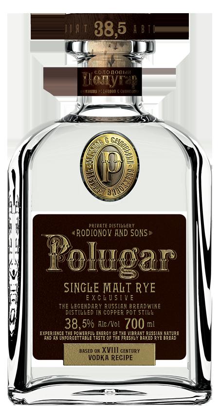 Polugar single malt rye vodka.png