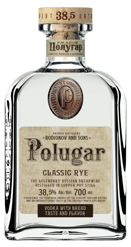 Polugar classic rye vodka.png