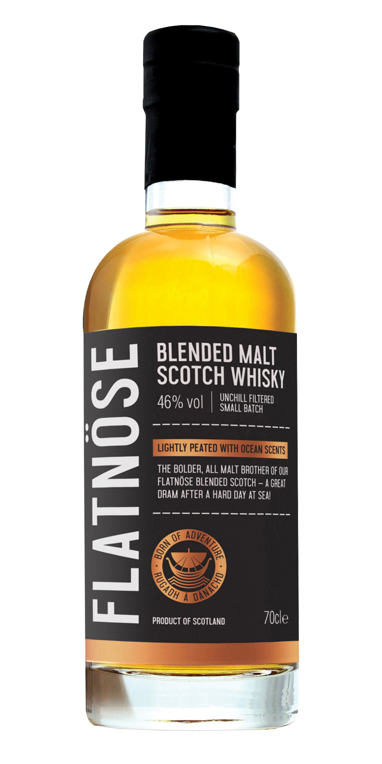 Flatnose islay blended malt scotch whisky.png