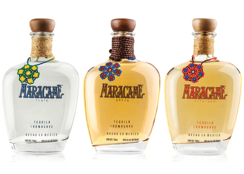 MARACAME TEQUILA - Maracame tequila is a totally artisan product with every part of the process perfected representing two of Mexico's most important cultural assets: tequila and the native culture. The piñas are traditionally baked in ovens of volcanic rock for more than 3 days.