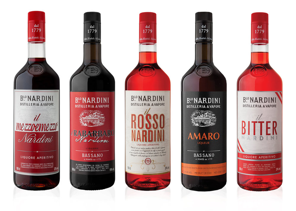 nardini aperitivi - This is a story that began a long time ago, in 1779 to be exact in Bassano del Grappa, the heart of the Veneto Region of Italy. Here Bortolo Nardini distilled his grappa, and the story of the Nardini Distillery began. Alongside Grappa the Nardini Distillery also make a premium range of well-known and loved Aperitifs including the famous MezzoeMezzo.
