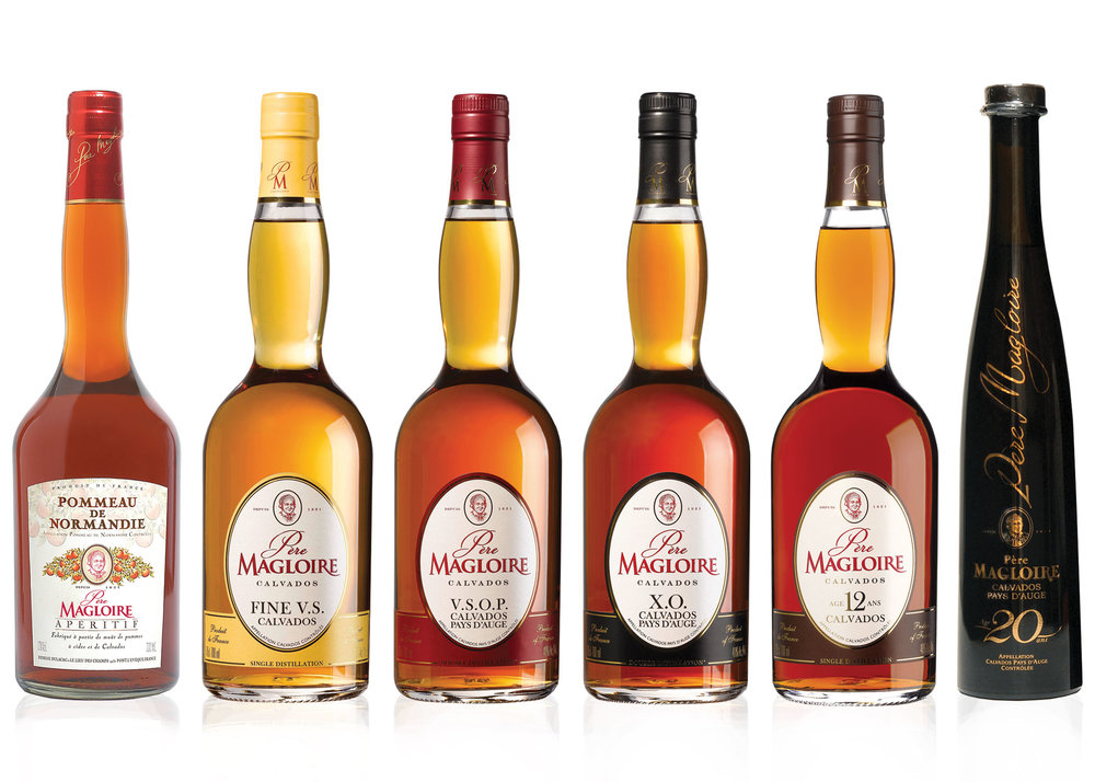 PÈRE MAGLOIRE - Père Magloire welcomes you warmly to the world of Calvados, the fruit of Normandy. Père Magloire maintains a position as the market leader brand of Calvados broth in France and throughout the world.