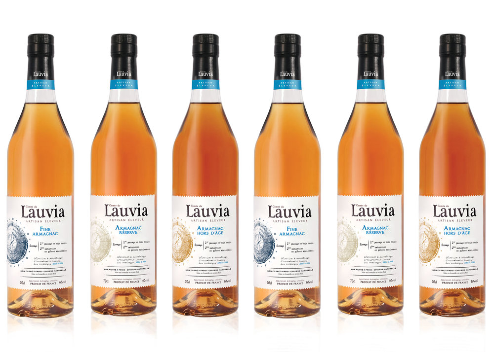 COMTE DE LAUVIA ARMAGNAC - Local roots. Based in the heart of Bas-Armagnac, Comte de Lauvia nurture a relationship with selected wine growers whose terroirs meet our criteria for character and quality.