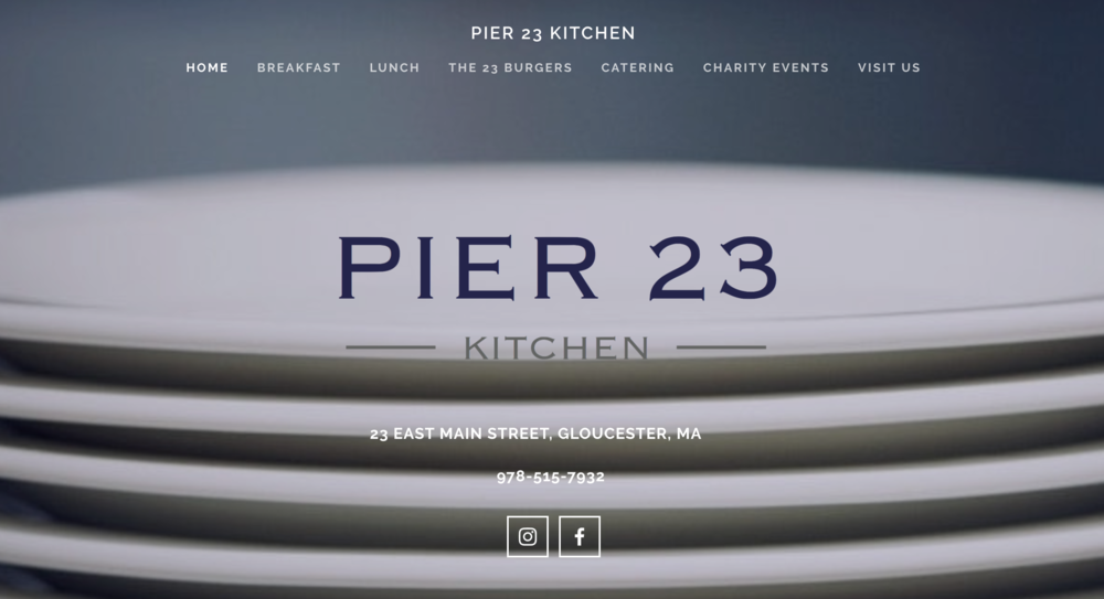 Pier 23 Kitchen, Gloucester, Ma