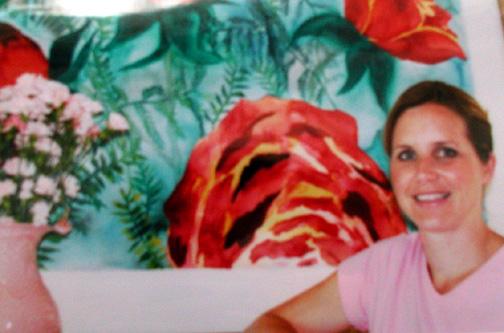 Art show in Winchester, Ma 2001