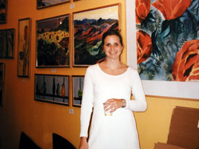 First art show in Woodstock, Vermont 1996