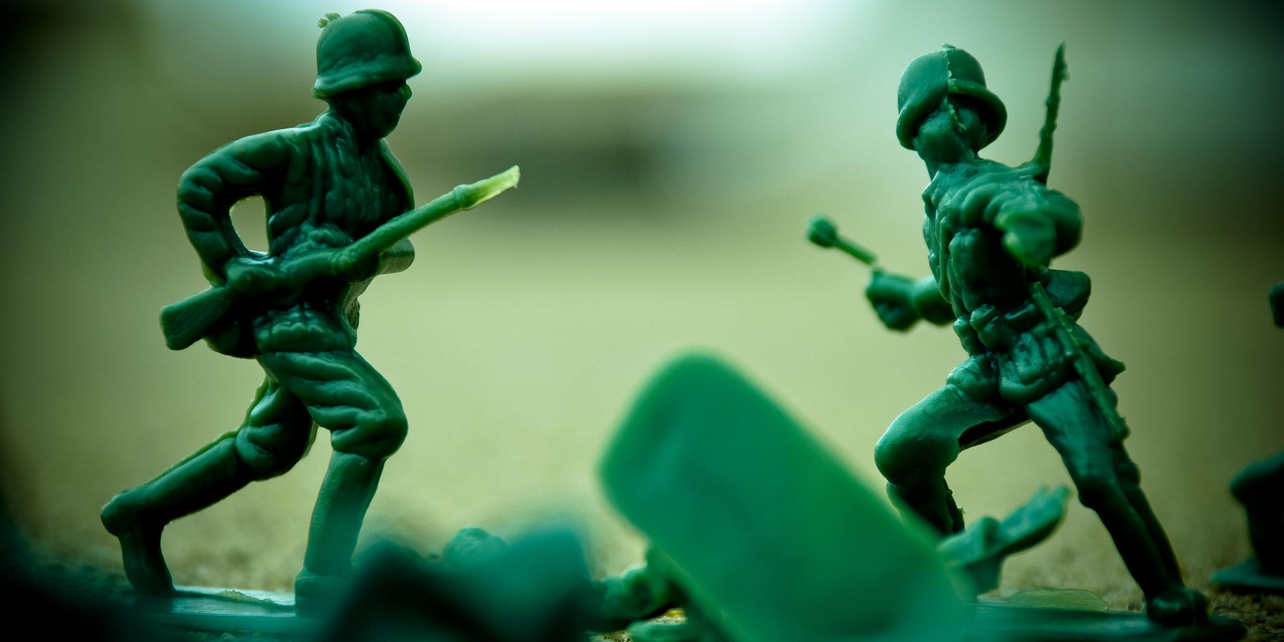 plastic war