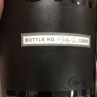 Bottle No. 542/1200