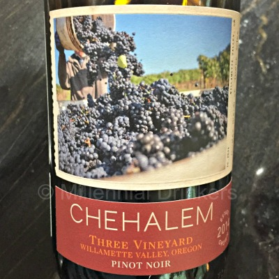 Millennial Drinkers — 2014 Chehalem Pinot Noir Three Vineyard