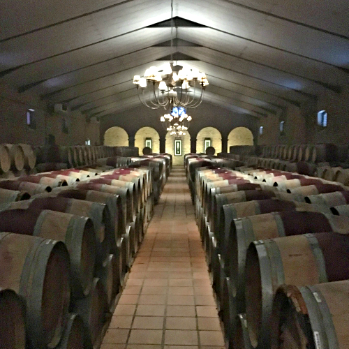 Barrel Room at the Estate