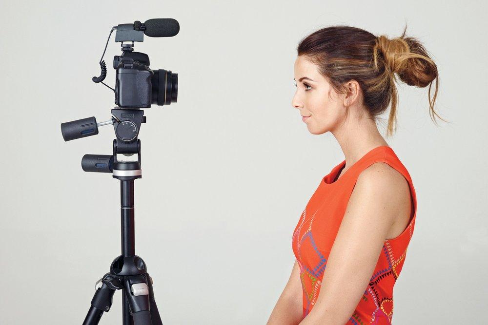 Zoella With A Camera