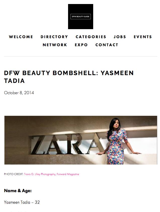 DFW Beauty Bombshell: Yasmeen Tadia