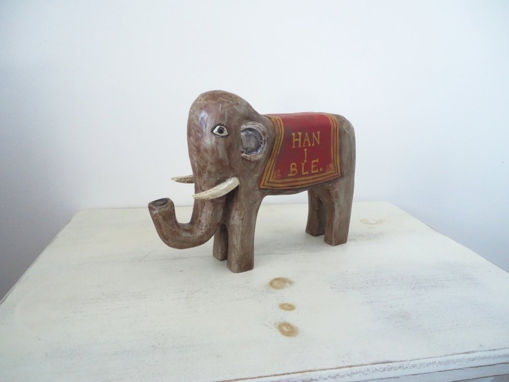 Hanibal Elephant Table Topper  : To add this piece   to your collection, you can email us through the contact page.
