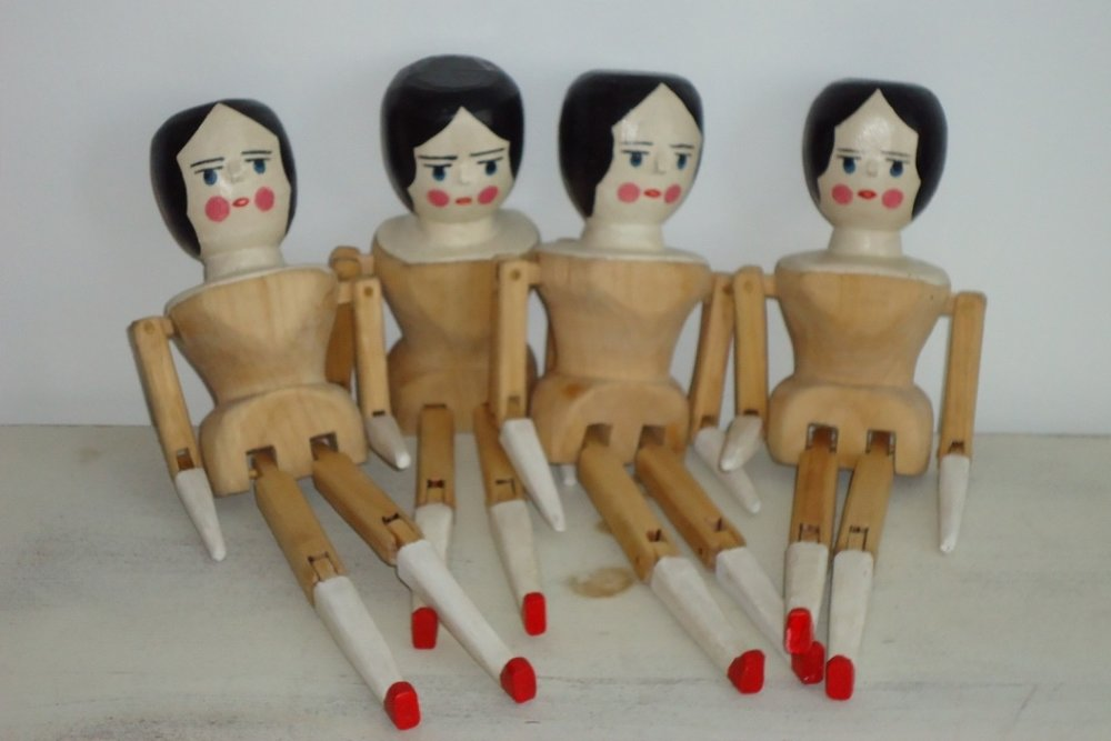 Penny Dolls: To add this piece to your collection, you can email us through the contact page.