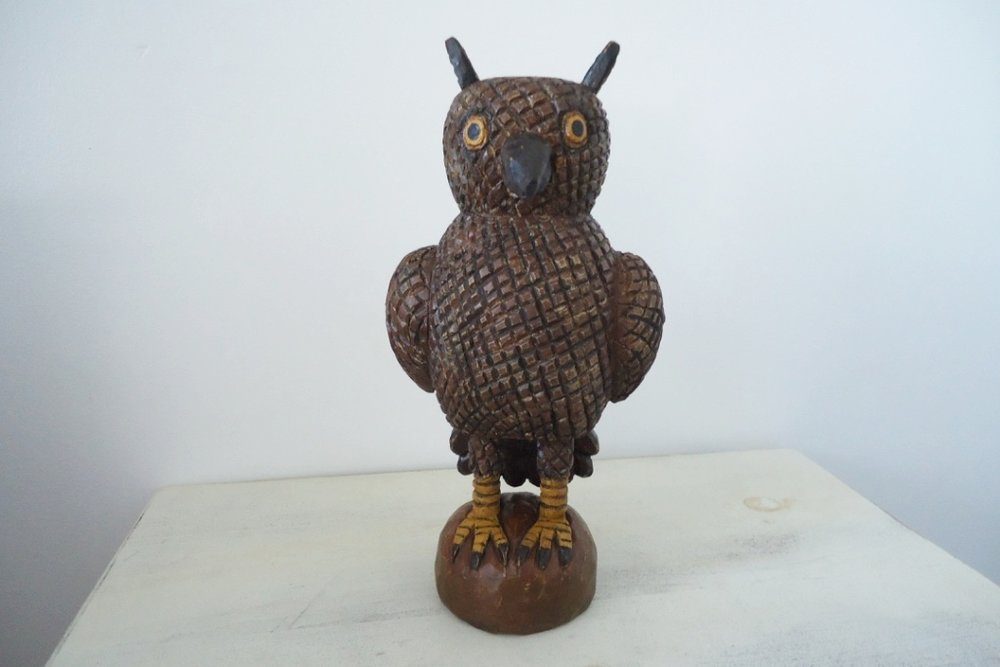 Owl: To add this piece to your collection, you can email us through the contact page.