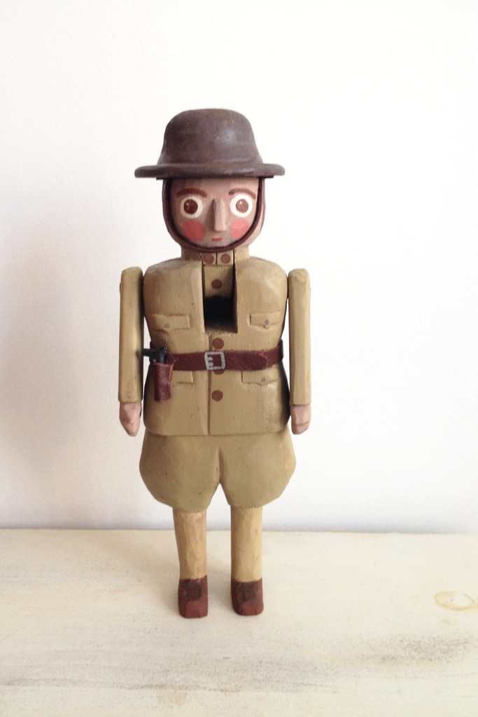 WWWI Trooper: To add this piece to your collection, you can email us through the contact page.
