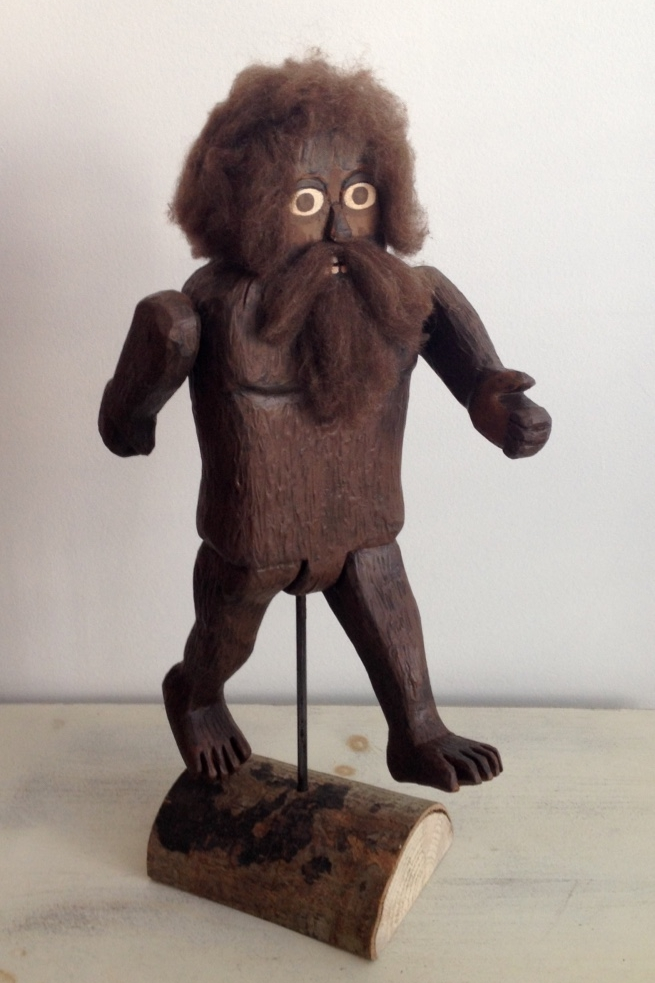 Bigfoot: To add this piece to your collection, you can email us through the contact page.