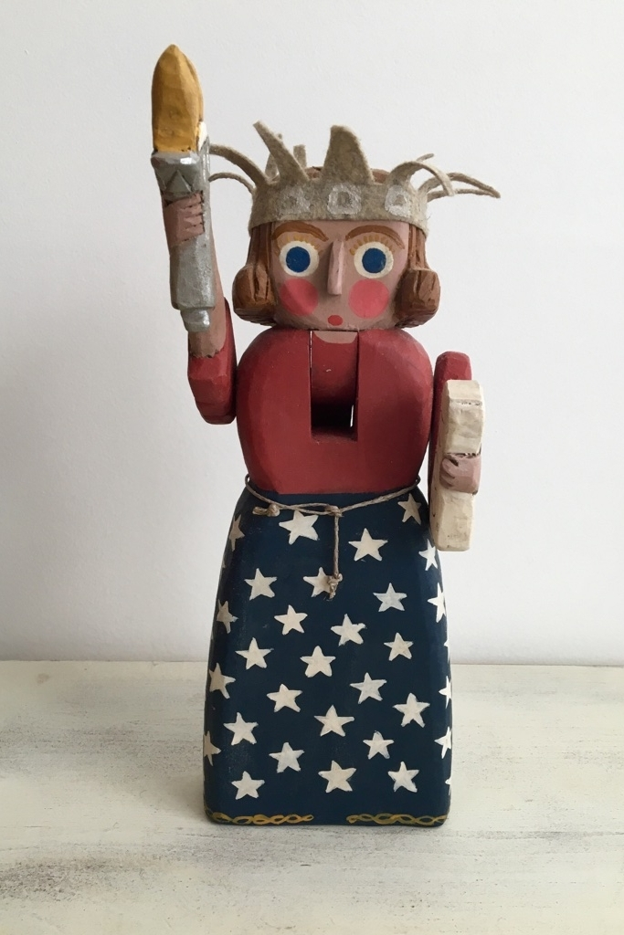 Lady Liberty:  : To add this piece   to your collection, you can email us through the contact page.