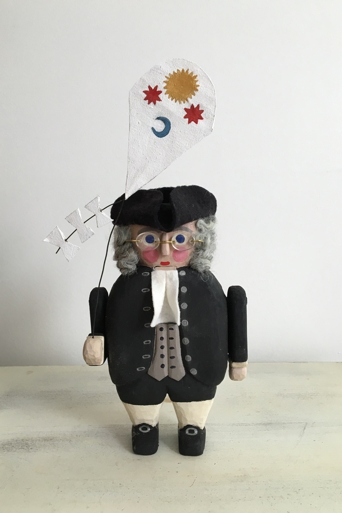 Ben Franklin  : To add this piece   to your collection, you can email us through the contact page.