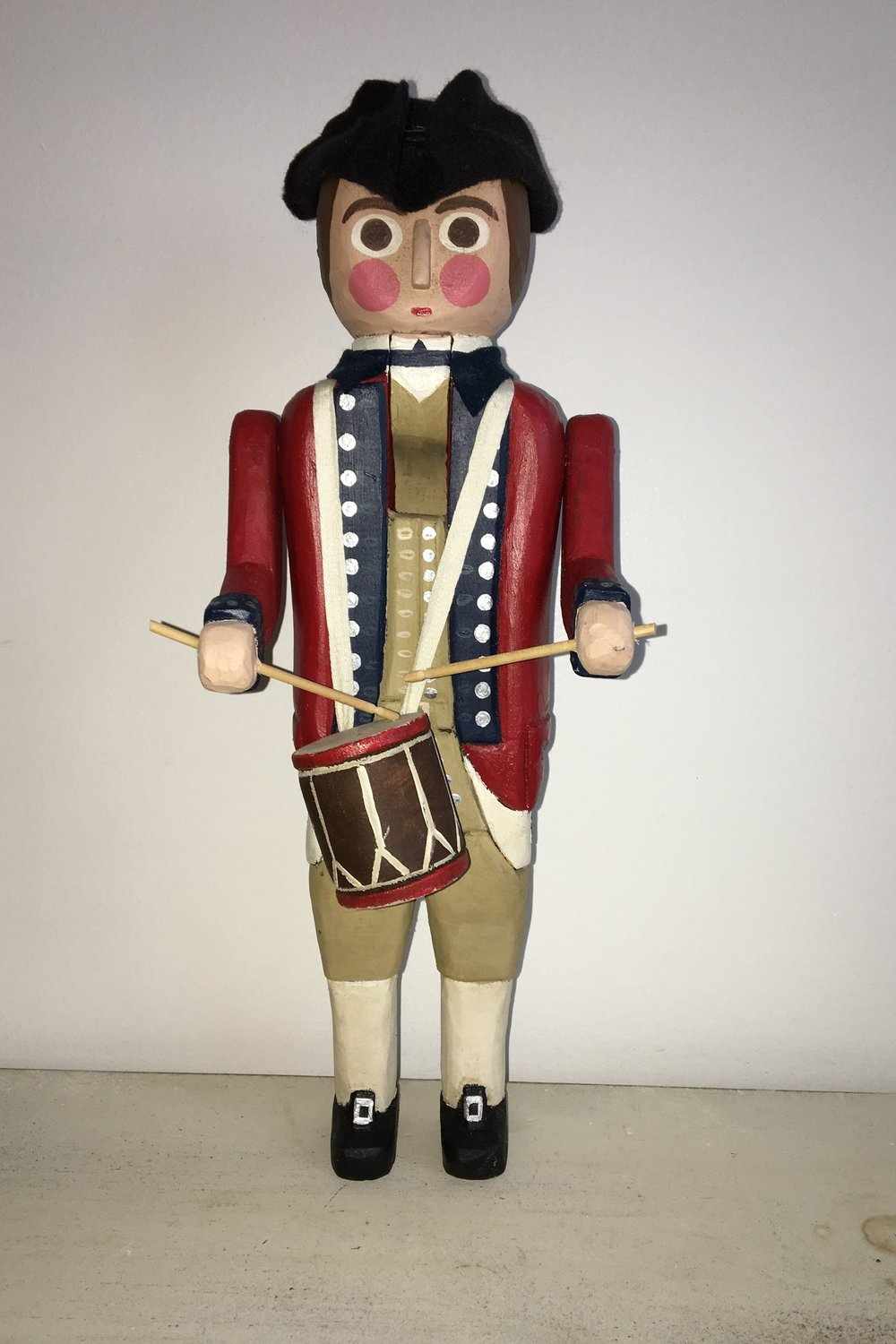 Bristish Drummer Nutcracker:   To add this piece   to your collection, you can email us through the contact page.