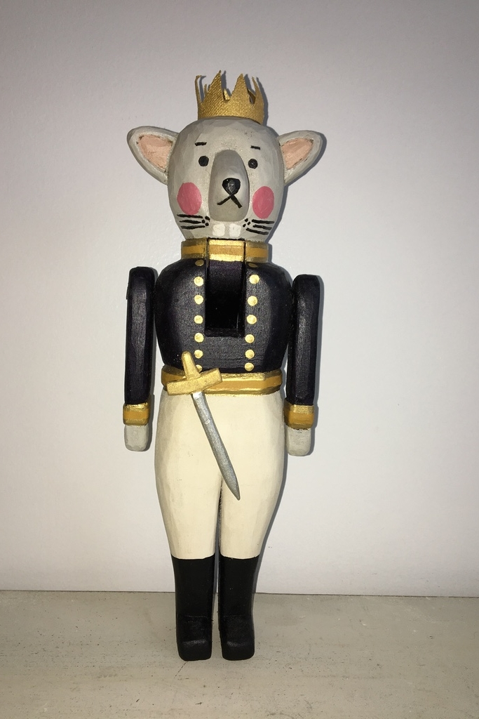 Mouse King Nutcracker:   To add this piece   to your collection, you can email us through the contact page.
