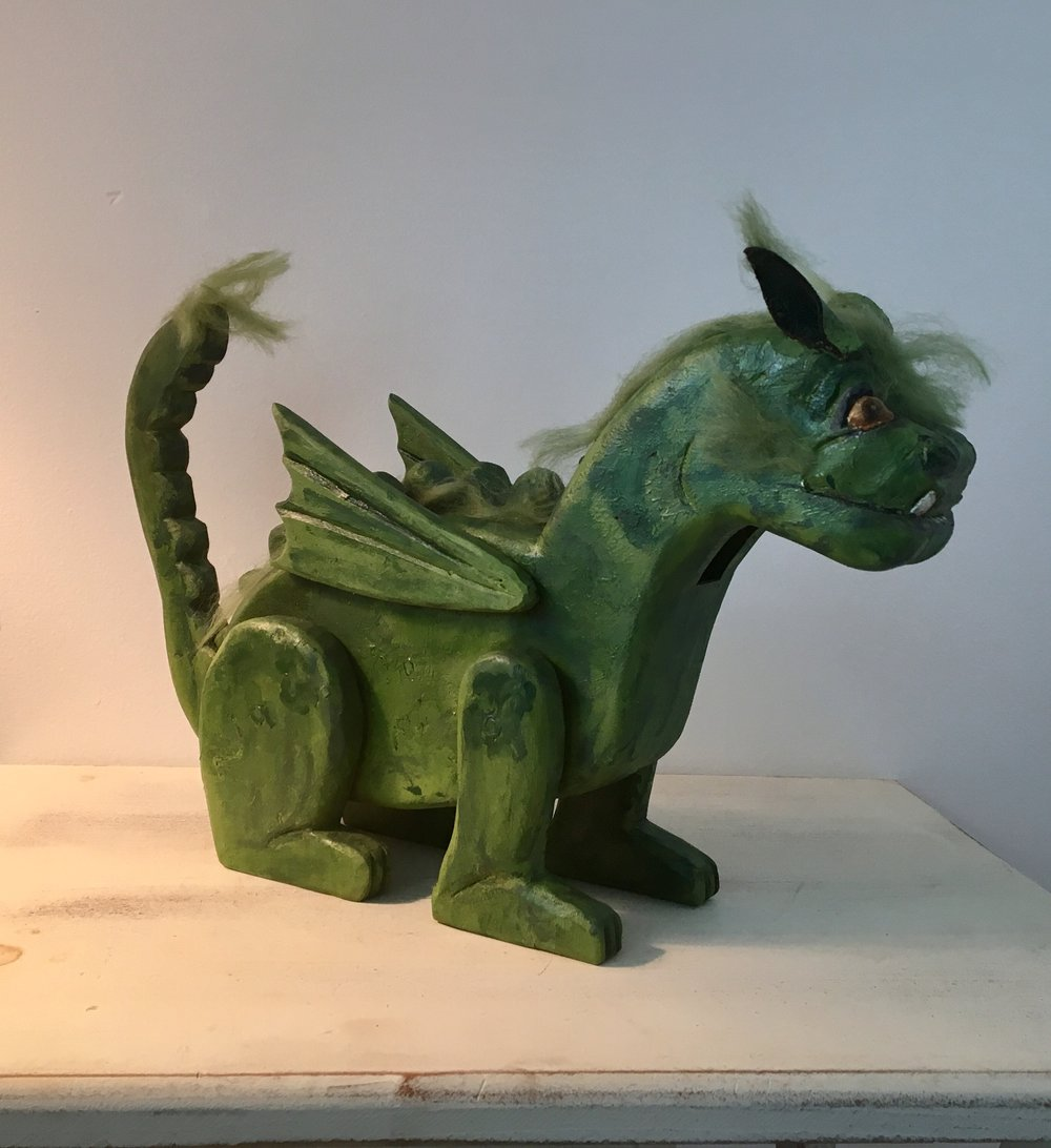 Pete's Dragon:   To add this piece   to your collection, you can email us through the contact page.