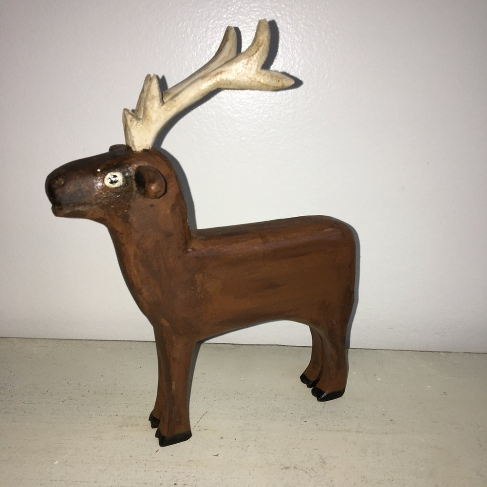 Brown Reindeer: To add this piece to your collection, you can email us through the contact page.