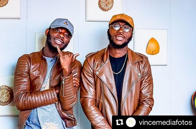 #Repost @vincemediafotos (@get_repost) ・・・ When u see them, they are #uptosomething @lovethatchris_ & @sammyvoa #photography meets #music