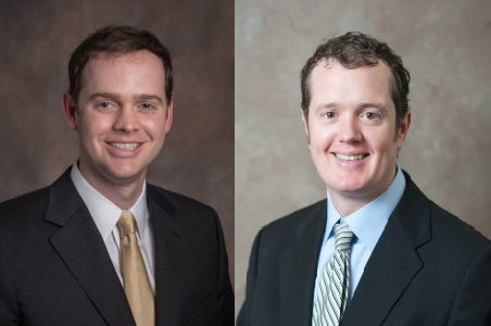Dr. Will Parke (left) and Dr. Ryan Isom (right)