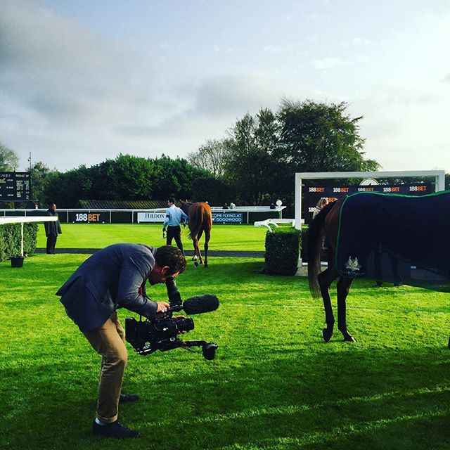 @leonardday getting the perfect shot at @goodwood_races today! #SeasonFinale