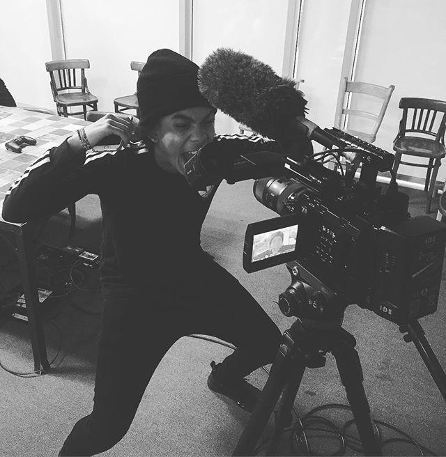 FIFA filming day ⚽️ @createdbyibra