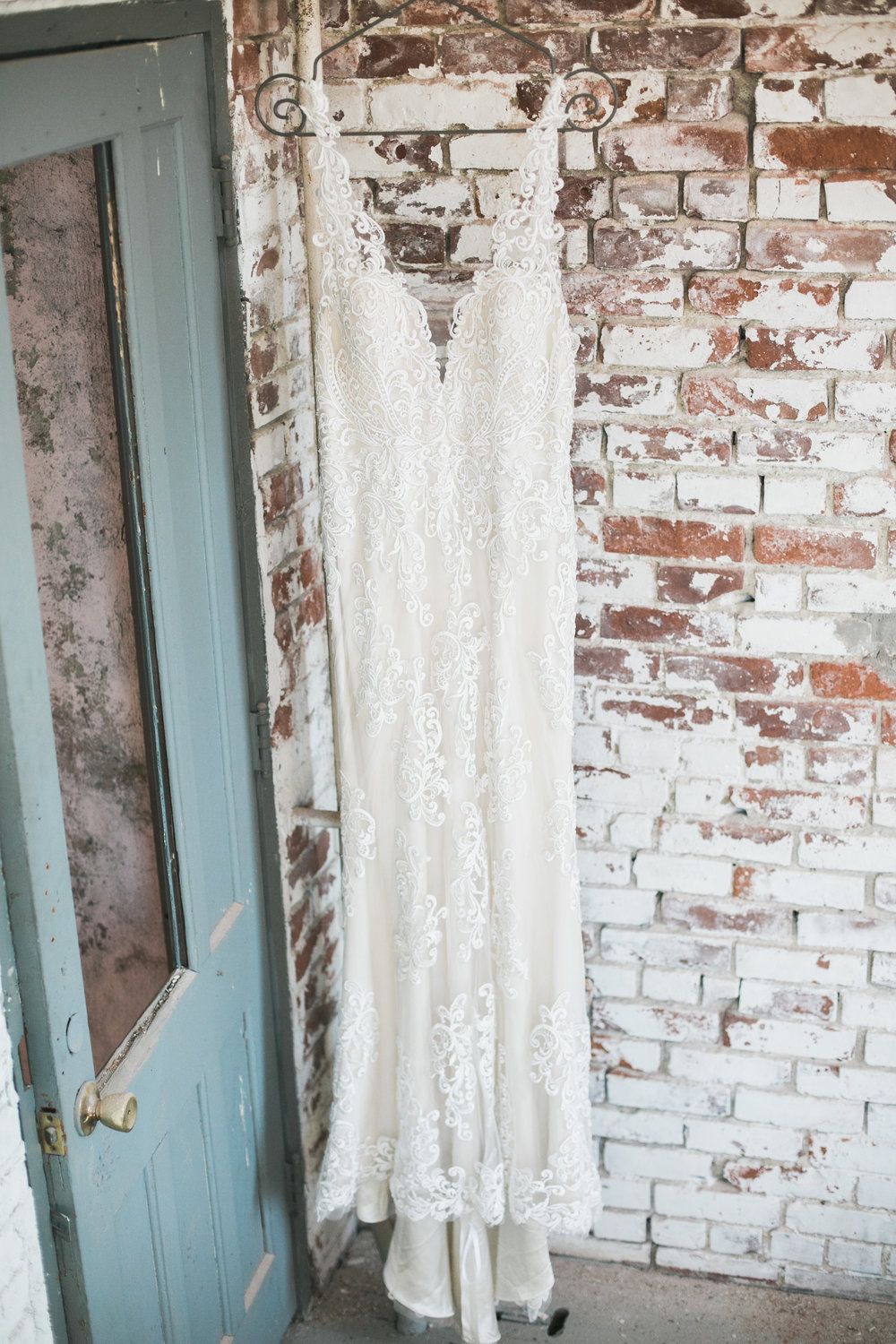 Industrial Chic Wedding Gown