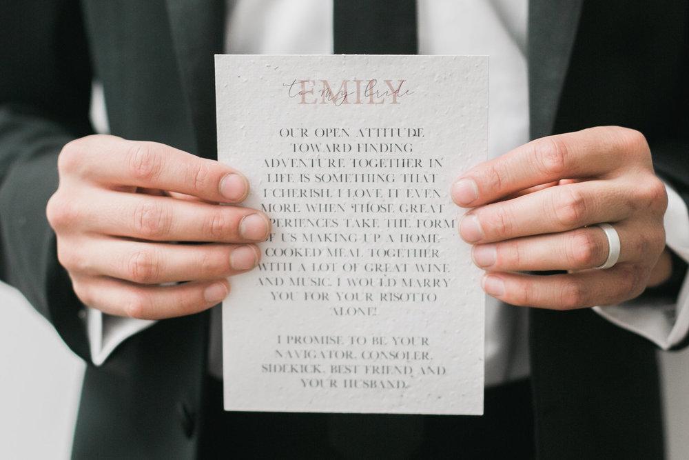 His Wedding Vows