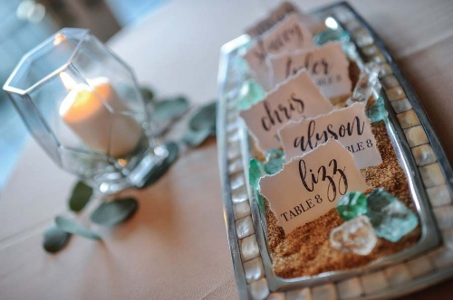table numbers - wedding planning